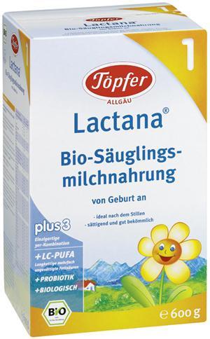 Topfer Lactana Organic 1