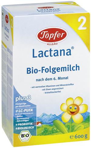 Topfer Lactana Organic 2