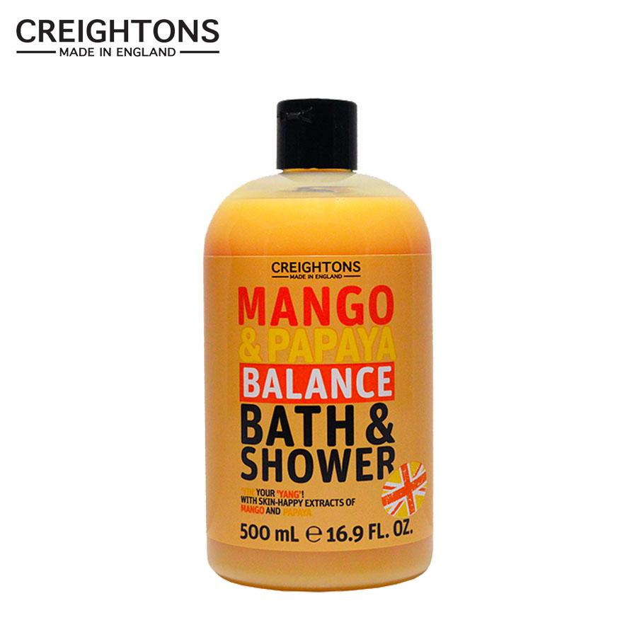 Sữa tắm Creightons chiết xuất Mango & Papaya - 500ml