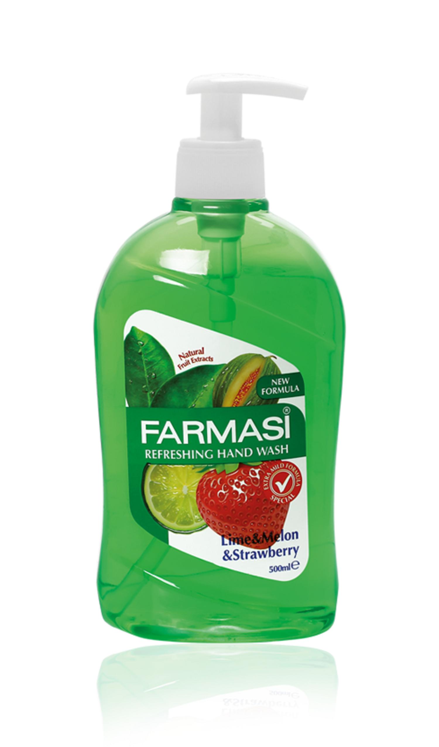 Nước rửa tay Farmasi Vitamin E & chiết xuất quả chanh