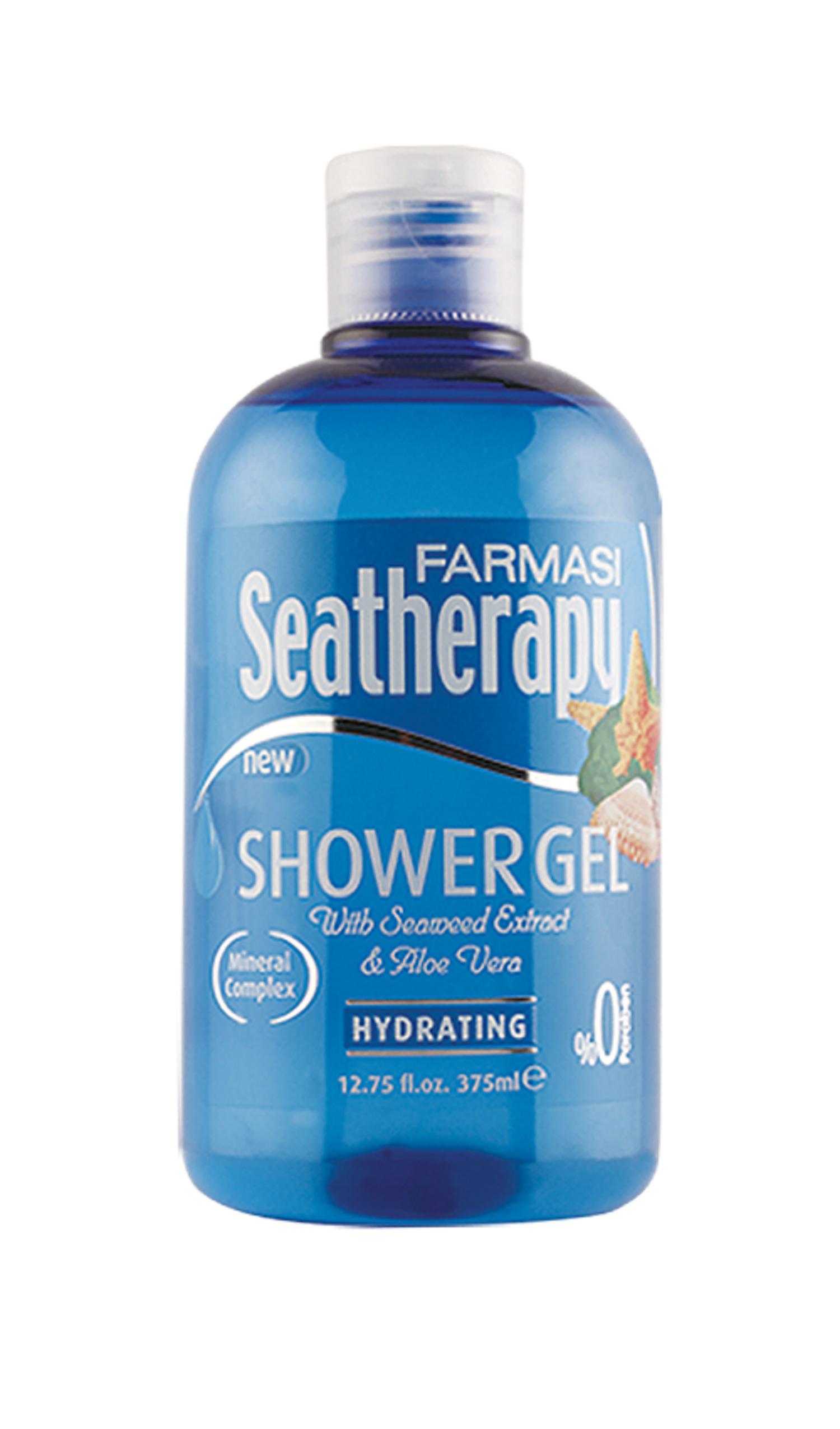 Gel tắm Farmasi chiết xuất từ rong biển và lô hội