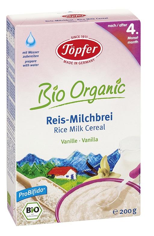 Bột ăn dặm ngũ cốc gạo sữa vani