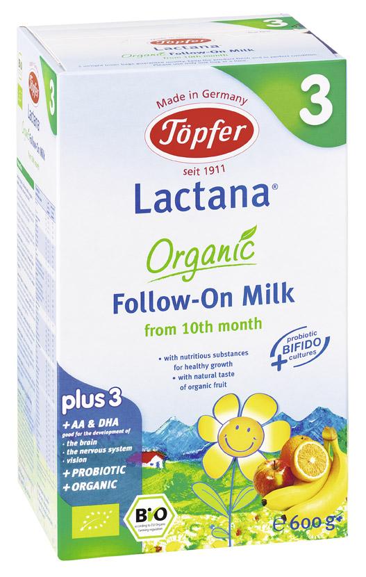 Topfer Lactana Organic 3