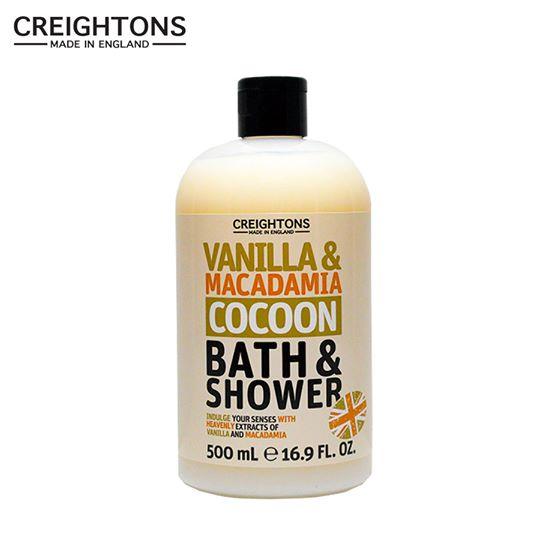 Sữa tắm Creightons chiết xuất Vanilla & Macadamia -500ml