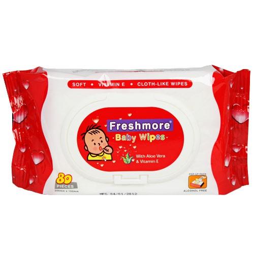 Giấy ướt trẻ em Freshmore 80s (có mùi)